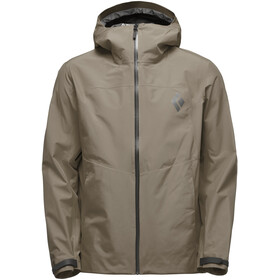Black Diamond Liquid Point Shell Jacket Herre walnut